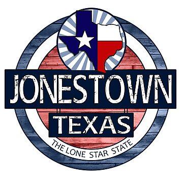 Jonestown Texas rustic wood circle by artisticattitud