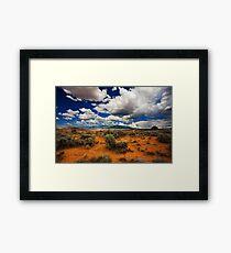 Utah desert Framed Print