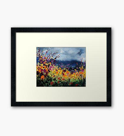 wild flowers 45 Framed Print