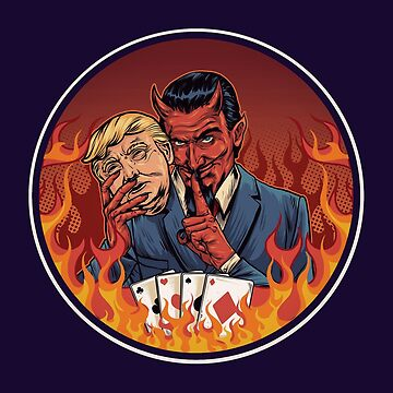 Evil Trump by mavisshelton