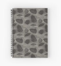 Impresión hecha a mano Spiral Notebook
