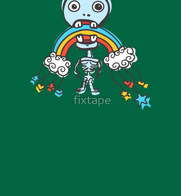I Eat Your Rainbow! by fixtape