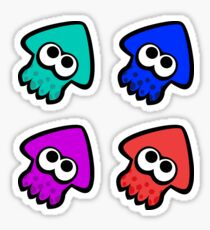 Neo Squid Sticker Pack 2 Sticker