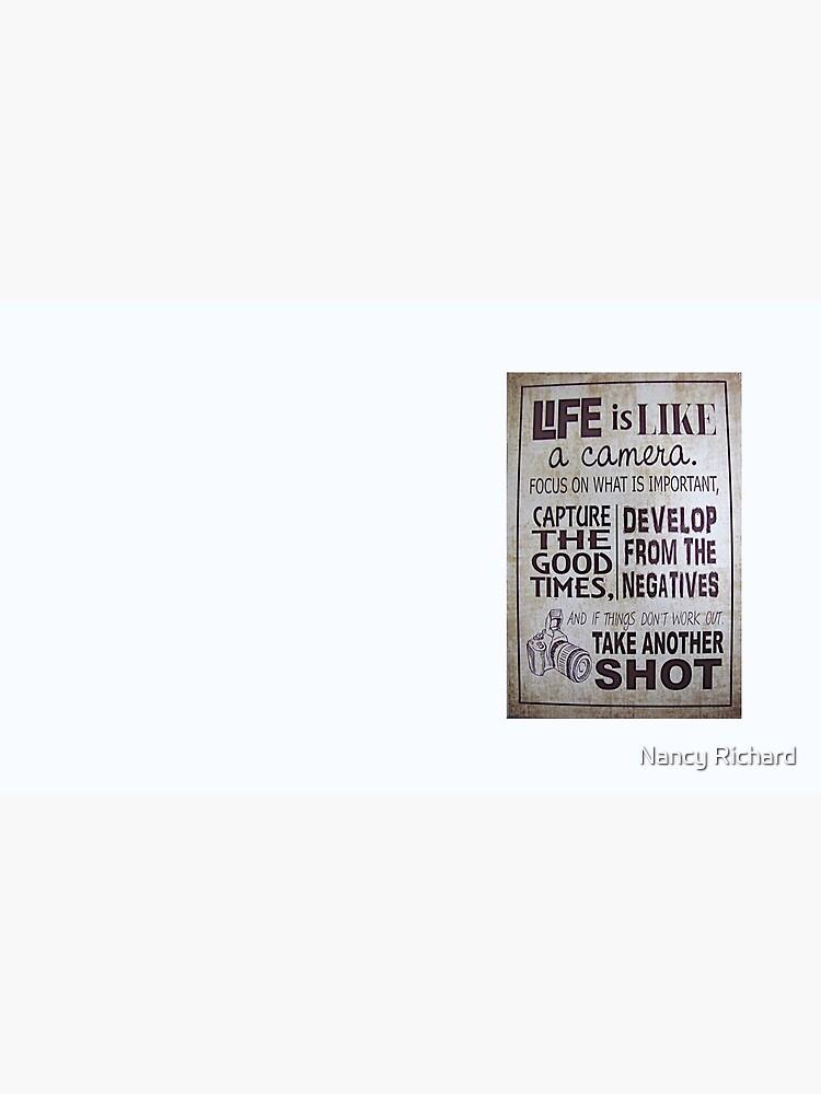 """""""Das Leben ist wie eine Kamera"""" von Kksgram"""