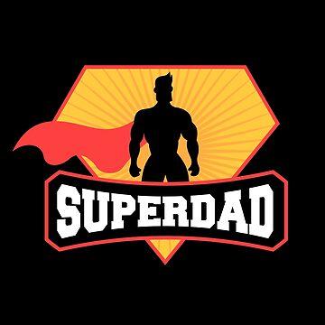 Superdad - Superhero by mrhighsky