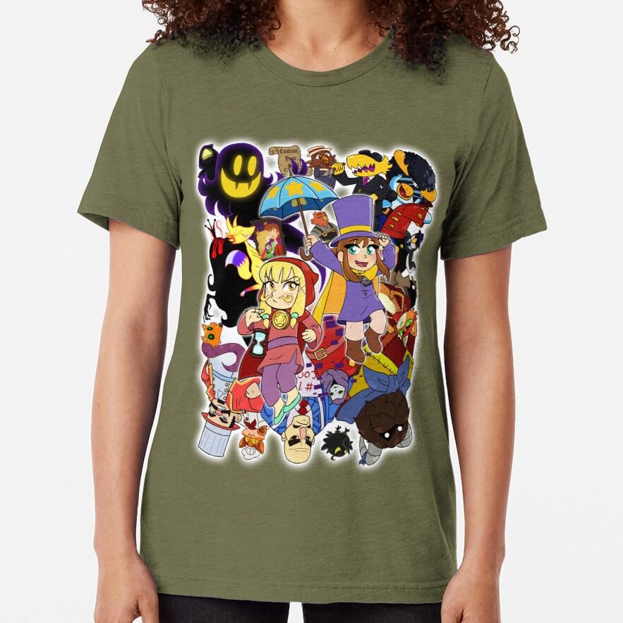 A Hat in Time Tri-blend T-Shirt