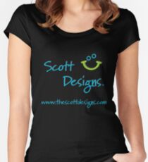 Scott Designs Women's Fitted Scoop T-Shirt