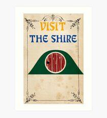 Visit The Shire Art Print