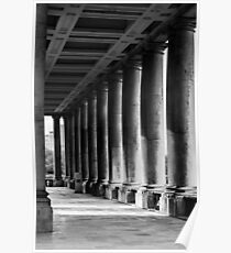 Portico At Greenwich Poster