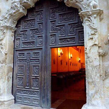 Mission Doorway by Sita