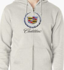 cadillac classic car Zipped Hoodie