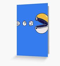 Pacemon Greeting Card