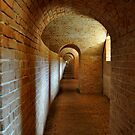 Fort Barrancas' Archs and Doors V by Magricely Diaz