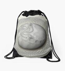 White Newton Drawstring Bag