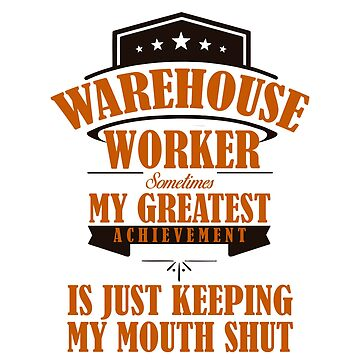 warehouse worker by 0815-Shirts