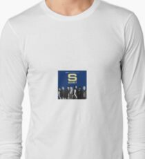 S club 7 Best Greatest Hits Design Products Long Sleeve T-Shirt