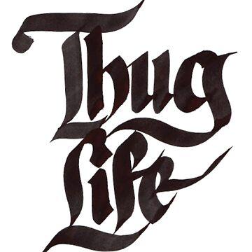 Thug Life Urban Slang Tupac's Code by ClothingSimple