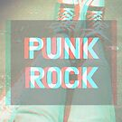 punk rock 3D Sneakers Grunge Print by sarahbubble