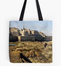 St Malo from the Fort Tote Bag