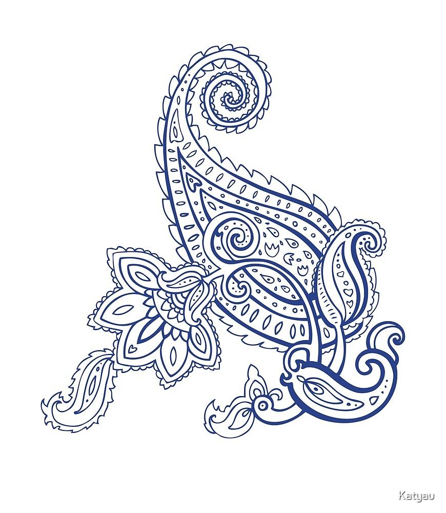 Paisley pattern by Katyau