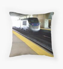 Acela flyby  Throw Pillow