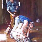 'Men at Work' by Lynda Robinson