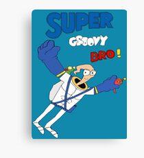Super Groovy Bro! Canvas Print