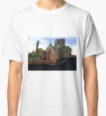 172 - SAINT CUTHBERT'S CHURCH, BLYTH - DAVE EDWARDS - WATERCOLOUR - 2007 Classic T-Shirt
