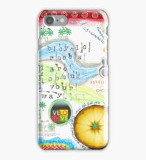 Bicycle races  iPhone Case/Skin
