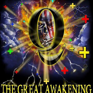 Q The Great Awakening  by TrumpQAnon