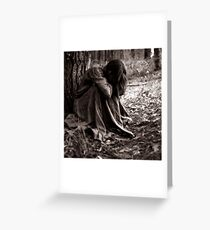 when solitude is required... Greeting Card