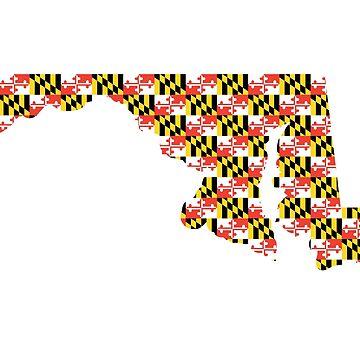 Maryland Flag State by harringe