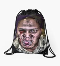 inner demons Drawstring Bag