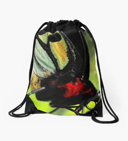 Cairns Birdwing Detail Drawstring Bag