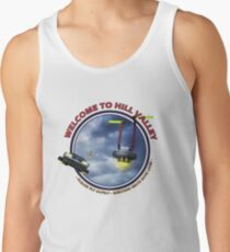 Welcome to Hill Valley - Please Fly Safely Tank Top