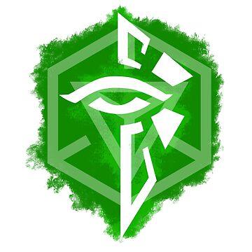 Enlightened Faction Symbol ART by rafo