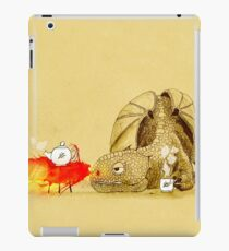 Dragon making tea iPad Case/Skin