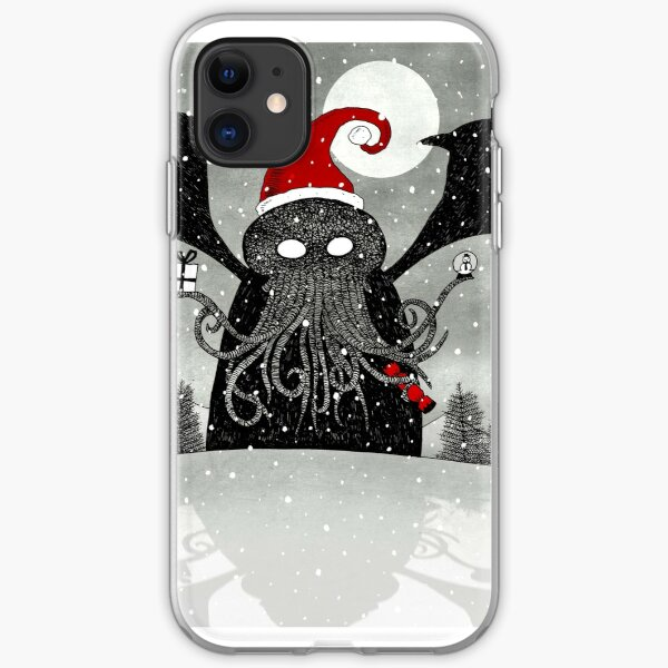 A Cthulhu Christmas iPhone Soft Case