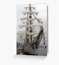 Barque Gloria Greeting Card