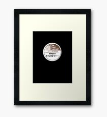 By a staggering coincidence Framed Print