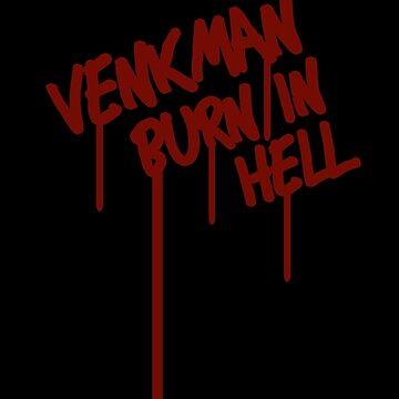 Venkman Burn in Hell by brianftang