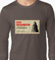 Ivo Shandor Architecture Long Sleeve T-Shirt