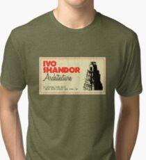 Ivo Shandor Architecture Tri-blend T-Shirt