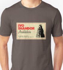 Ivo Shandor Architecture Unisex T-Shirt