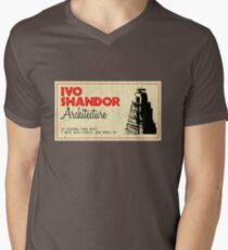 Ivo Shandor Architecture Men's V-Neck T-Shirt