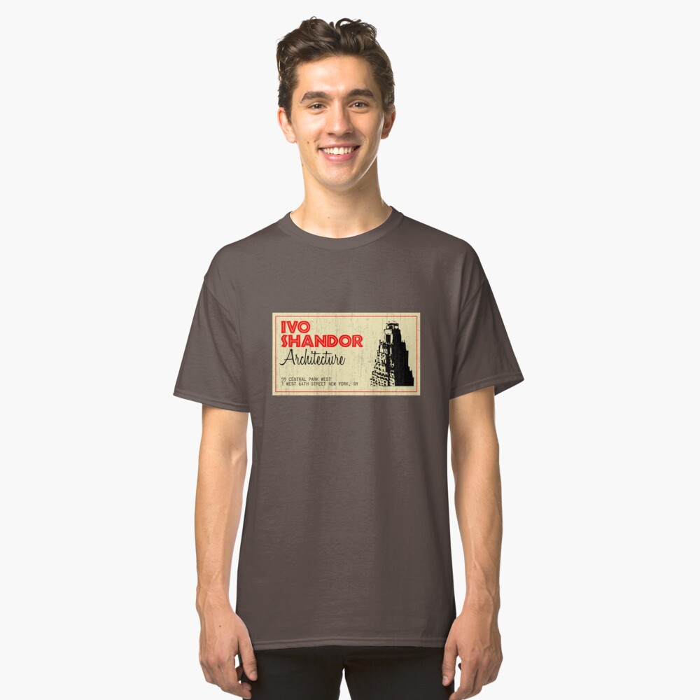 Ivo Shandor Architecture Classic T-Shirt Front