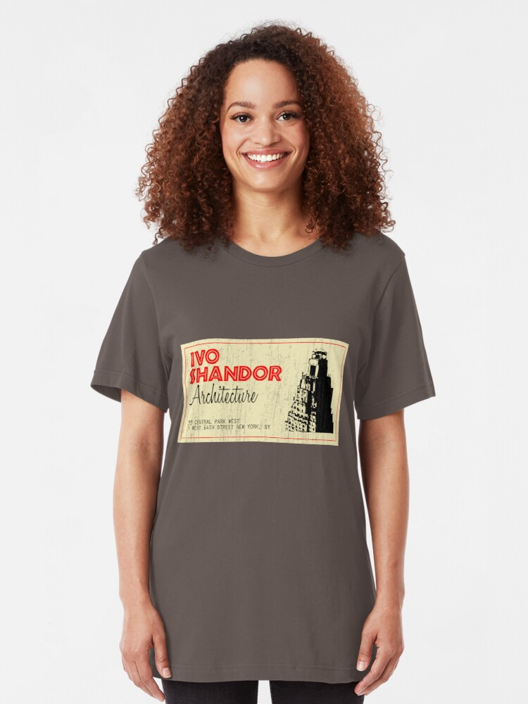 Alternate view of Ivo Shandor Architecture Slim Fit T-Shirt