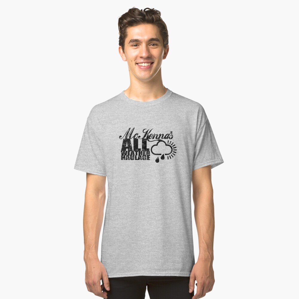 McKenna's All Weather Haulage Classic T-Shirt Front