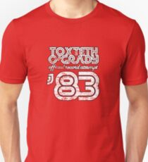 Toxteth O'Grady, official record attempt 1983 Slim Fit T-Shirt