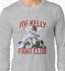 Vintage Joe Kelly Fight Boston Baseball Club T-Shirt Long Sleeve T-Shirt